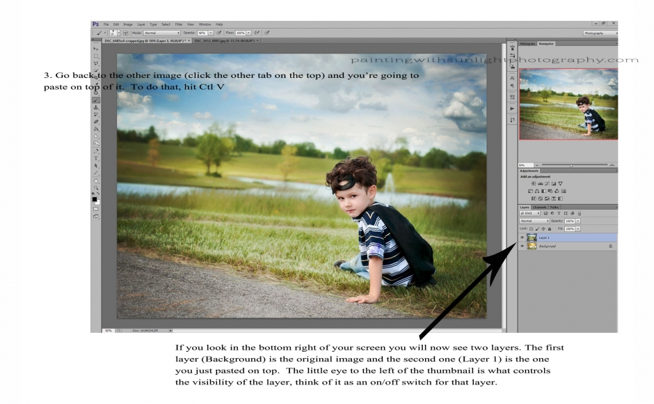 Learning Layers and Masks with Photoshop CS6 – Beginner